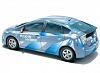 Гибрид Toyota Prius на солнечных батареях.