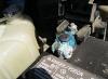 Белый кислотный налет на клемме аккумулятора