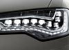 Светодиоды в передних фарах новой Audi A6