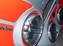 Установка акустики в двери автомобиля. Изготавливаем кик панели своими руками