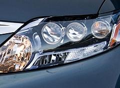 Фары lexus rx 450h с ксеноновыми лампами и линзами