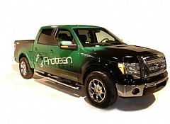 Ford F-150 на электродвигателях и литий ионных батареях