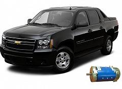 Chevrolet Avalanche с установленным электродвигателем - гибрид своими руками