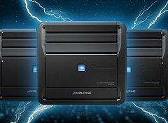 Усилители Alpine серии Xpower.