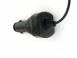 Зарядное устройство с индикатором и mini USB разъемом для мобильных устройств