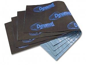 Листовая самоклеющаяся виброизоляция и шумоизоляция фирмы dynamat для кузова автомобиля