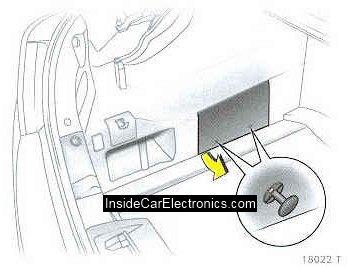 Элементы крепления (зажимы) крышки блока предохранителей в багажнике опель астра h седан