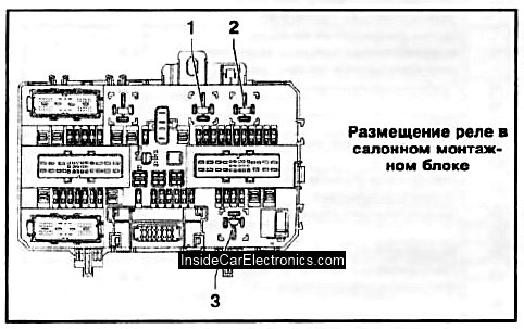 электросхема кондиционера калина