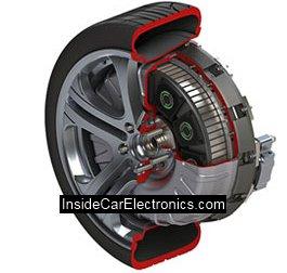 Бесщеточный электродвигатель - мотор-колесо устанавливаемое на ступицу колеса серийного автомобиля