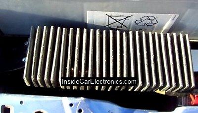 Радиатор охлаждения 5 диодов шунтирующих обмотки возбуждения электродвигателя