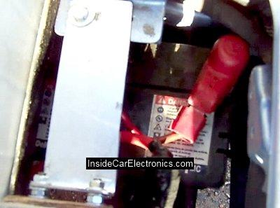 Штатный аккумулятор бортовой сети - 12 Вольт 35 Ампер/часов от Daewoo Matiz