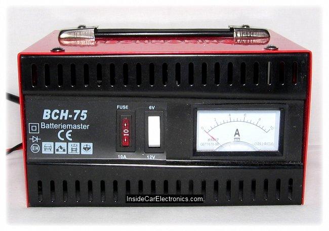 Заводское зарядное устройство для авто аккумуляторов