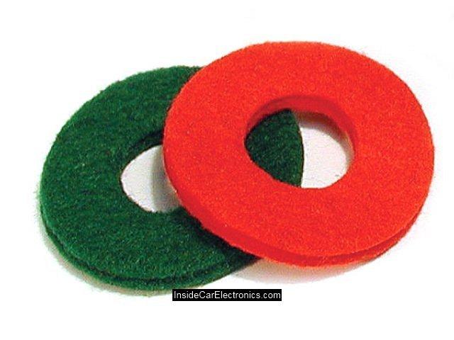 Защитные кольца из войлока (фетровые кольца) для предотвращения попадания кислоты аккумулятора на клеммы
