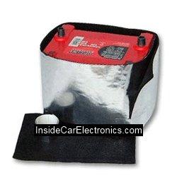 Заводской теплоизолирующий материал для окутывания и утепления аккумулятора