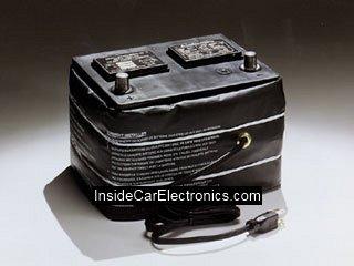 Утеплитель с нихромовой нитью для прогрева аккумуляторной батареи с подключением к прикуривателю или напрямую к бортовой сети