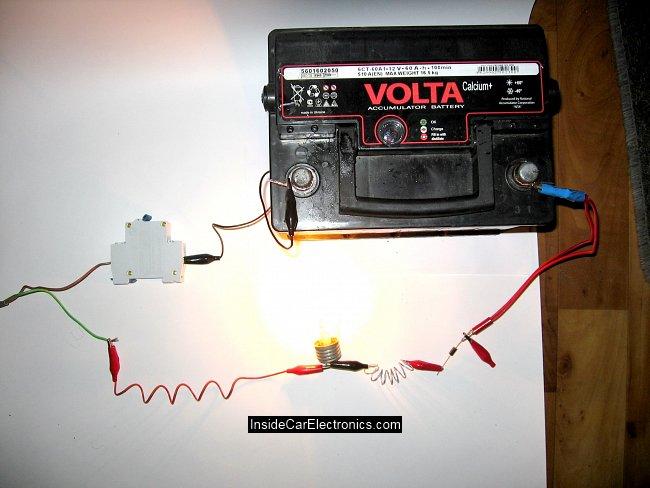 аккумулятора схемы